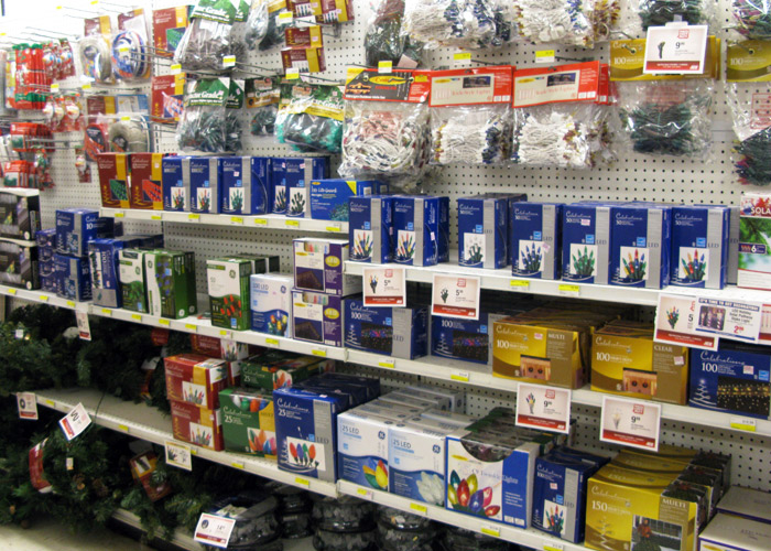 click here for enlargement kellys hardware has a large selection of energy efficient christmas