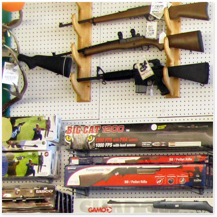 Kelly's Hardware has a complete selection of sporting goods for hunting, fishing, boating, recreation sports, and camping